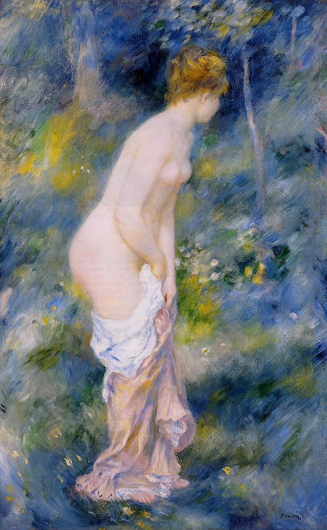 Standing Bather 1887 | Pierre Auguste Renoir | Oil Painting