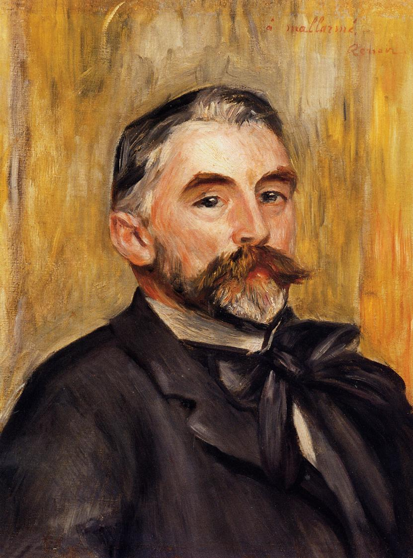 Stephane Mallarme 1892 | Pierre Auguste Renoir | Oil Painting
