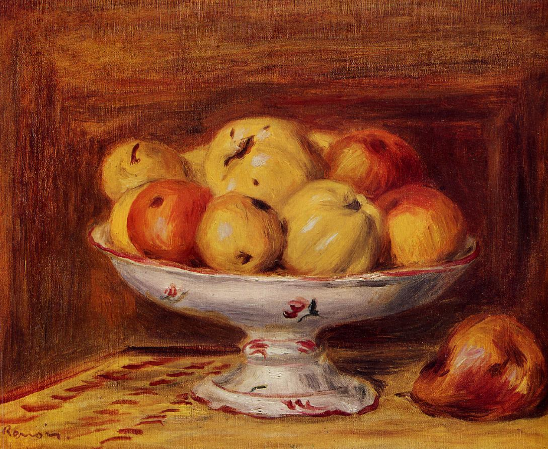 Still Life with Apples and Pears 1903 | Pierre Auguste Renoir | Oil Painting