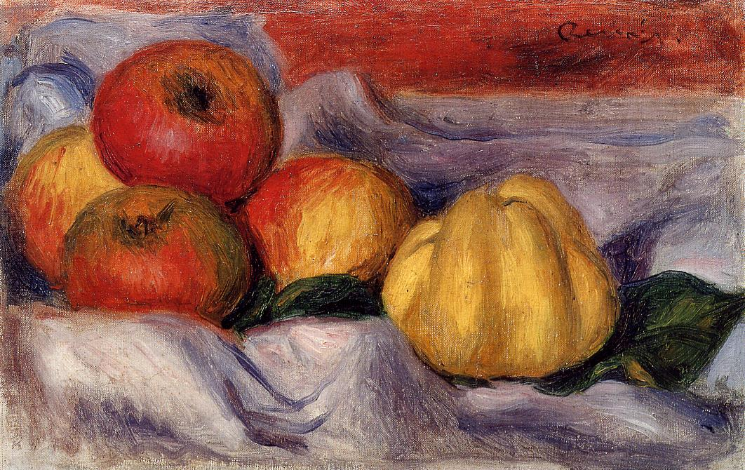 Still Life with Apples | Pierre Auguste Renoir | Oil Painting