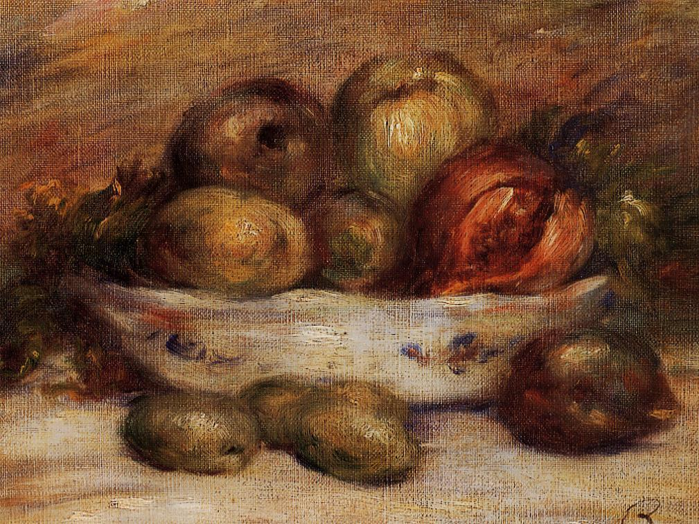 Still Life with Fruit1 | Pierre Auguste Renoir | Oil Painting