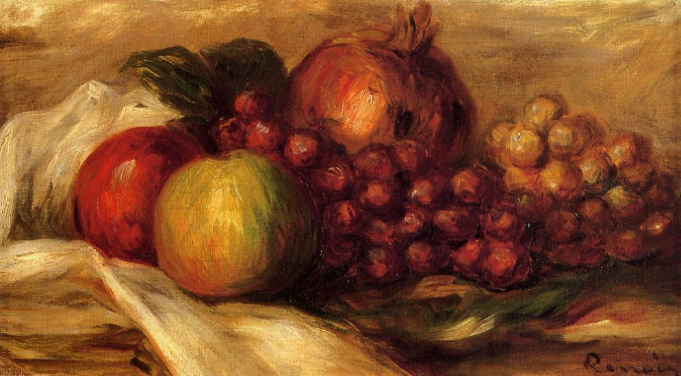 Still Life with Fruit2 | Pierre Auguste Renoir | Oil Painting