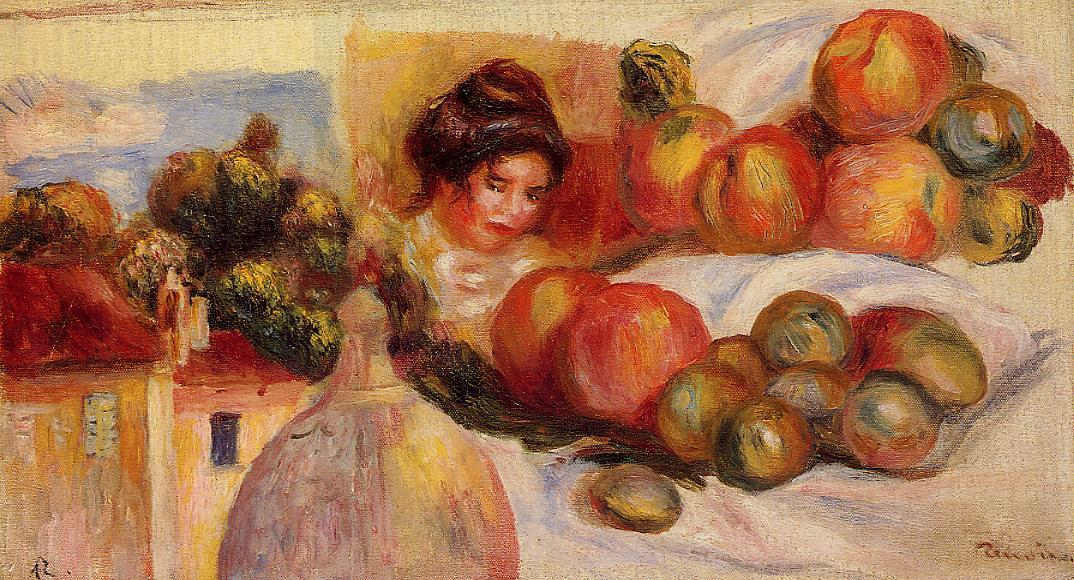 Still Life with Fruit3 | Pierre Auguste Renoir | Oil Painting