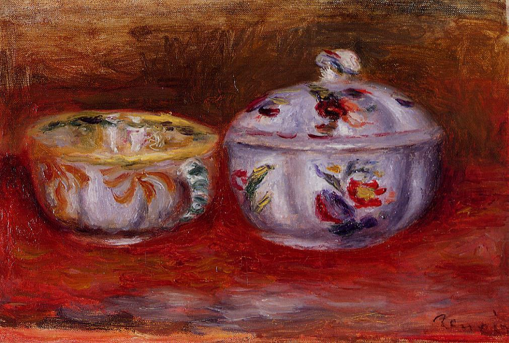 Still Life with Fruit Bowl | Pierre Auguste Renoir | Oil Painting