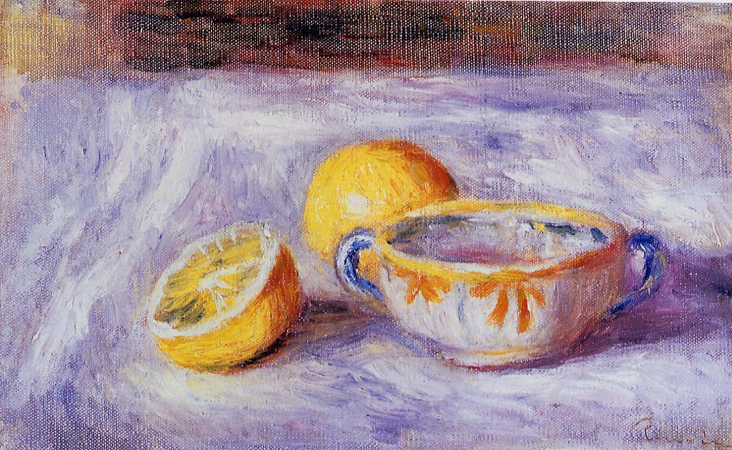 Still Life with Lemons | Pierre Auguste Renoir | Oil Painting