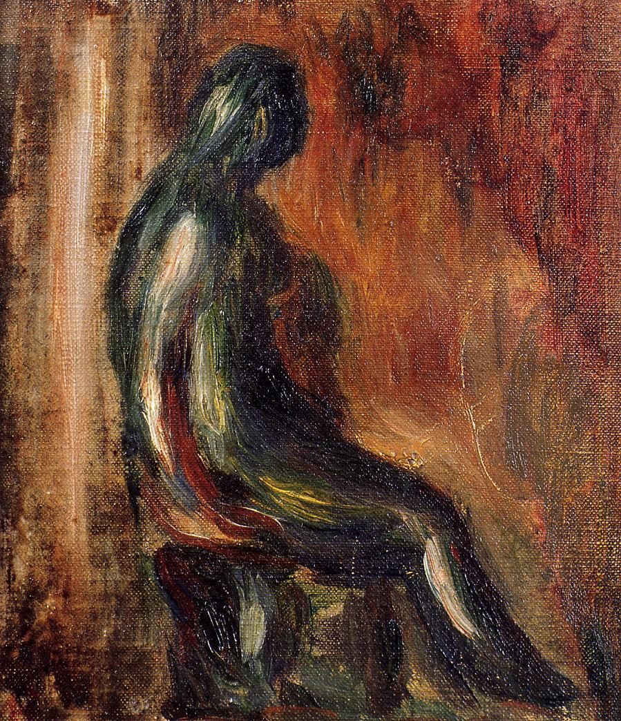 Study of a Statuette by Maillol 1907 | Pierre Auguste Renoir | Oil Painting