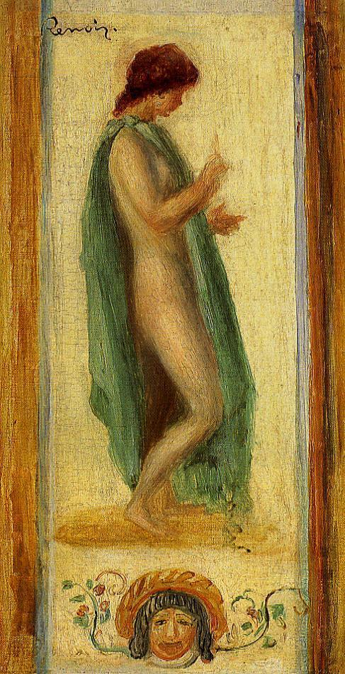Study of a Woman for Oedipus 1895 | Pierre Auguste Renoir | Oil Painting