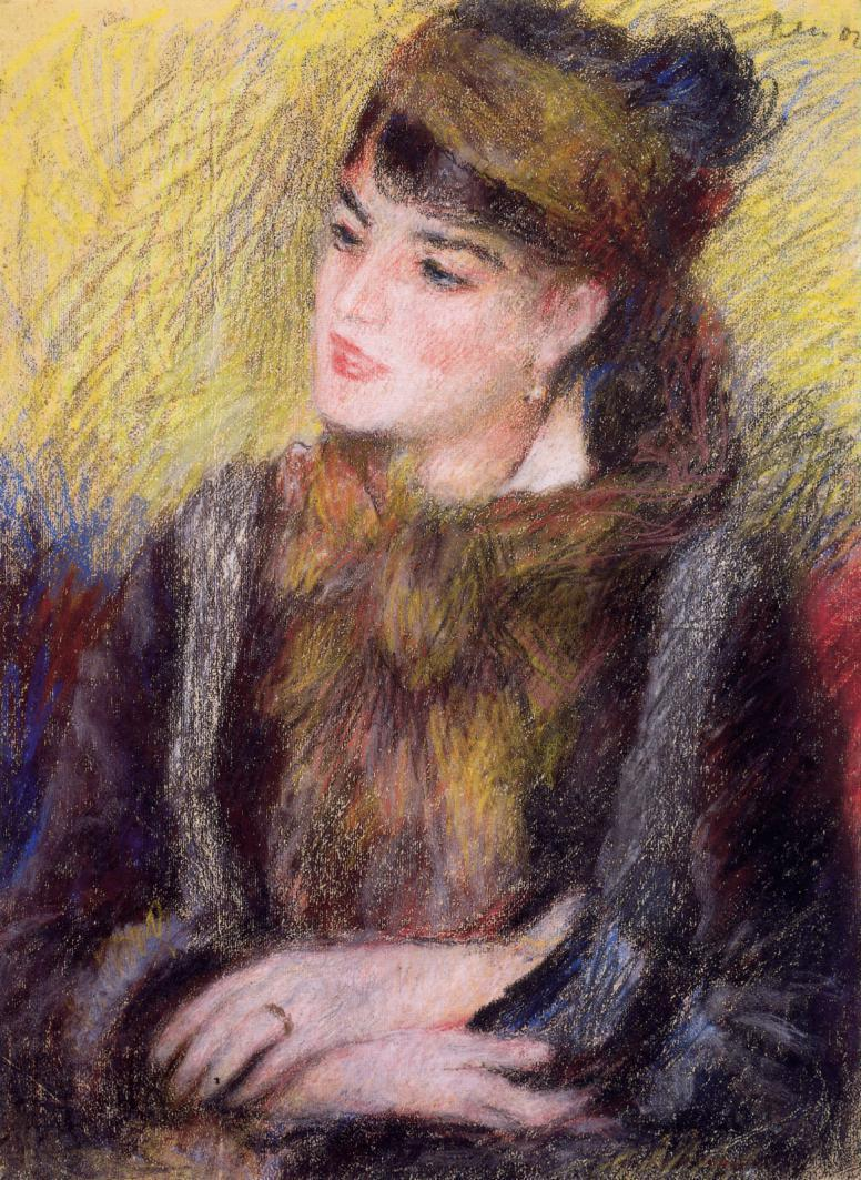 Study of a Woman | Pierre Auguste Renoir | Oil Painting