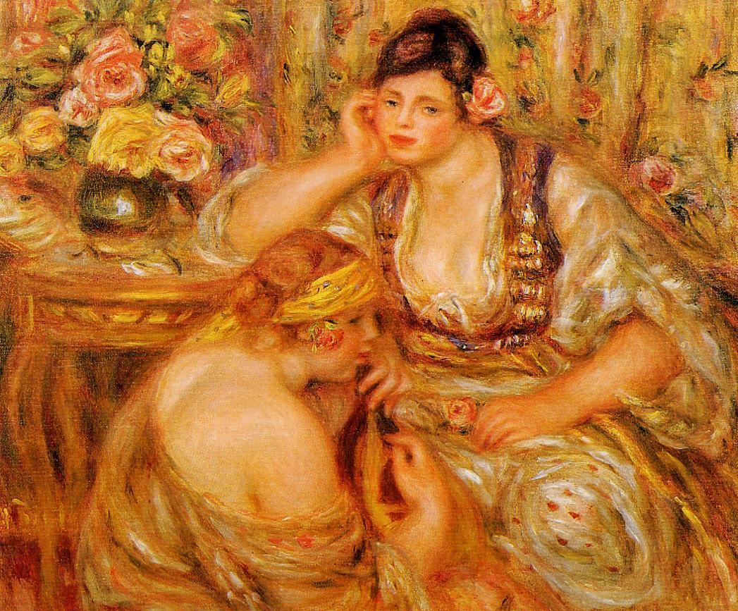 The Agreement 1919 | Pierre Auguste Renoir | Oil Painting