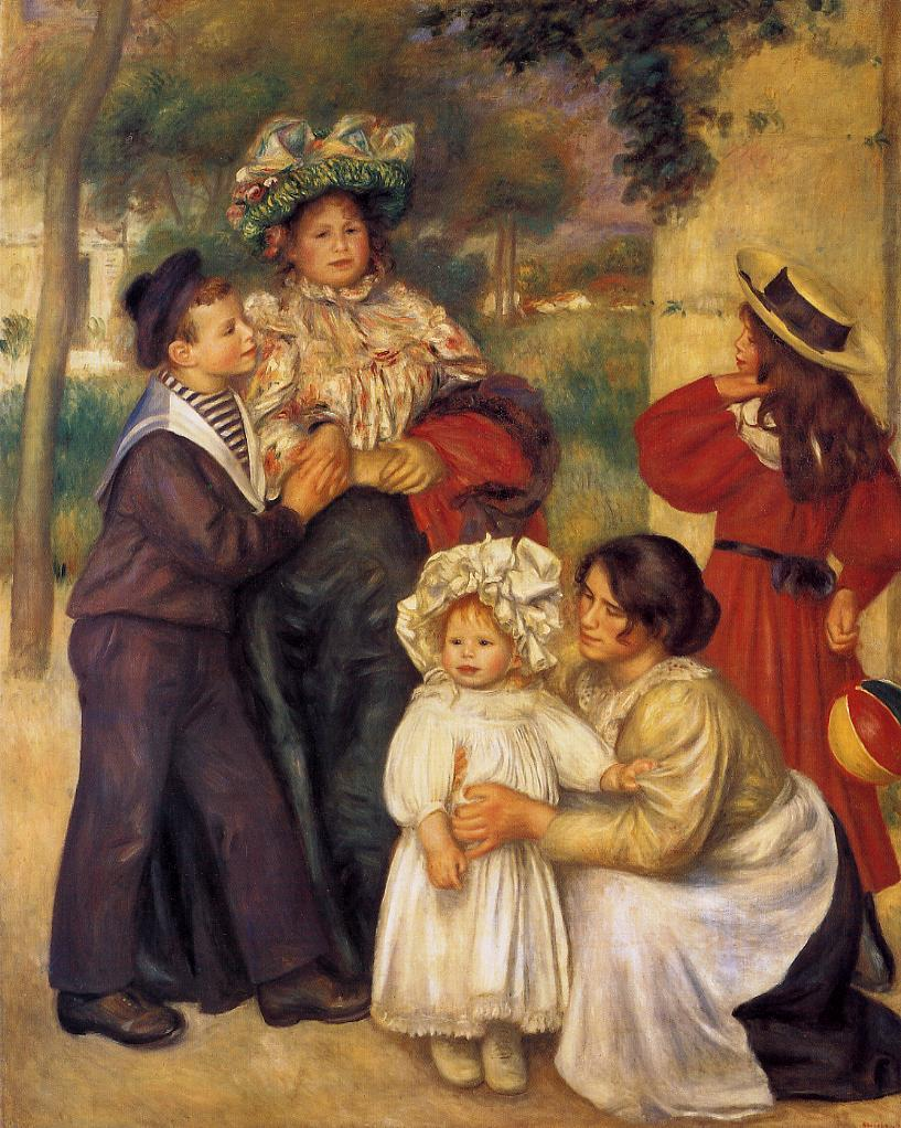 The Artists Family 1896 | Pierre Auguste Renoir | Oil Painting