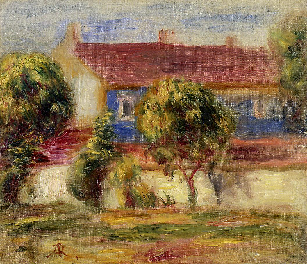 The Artists House | Pierre Auguste Renoir | Oil Painting