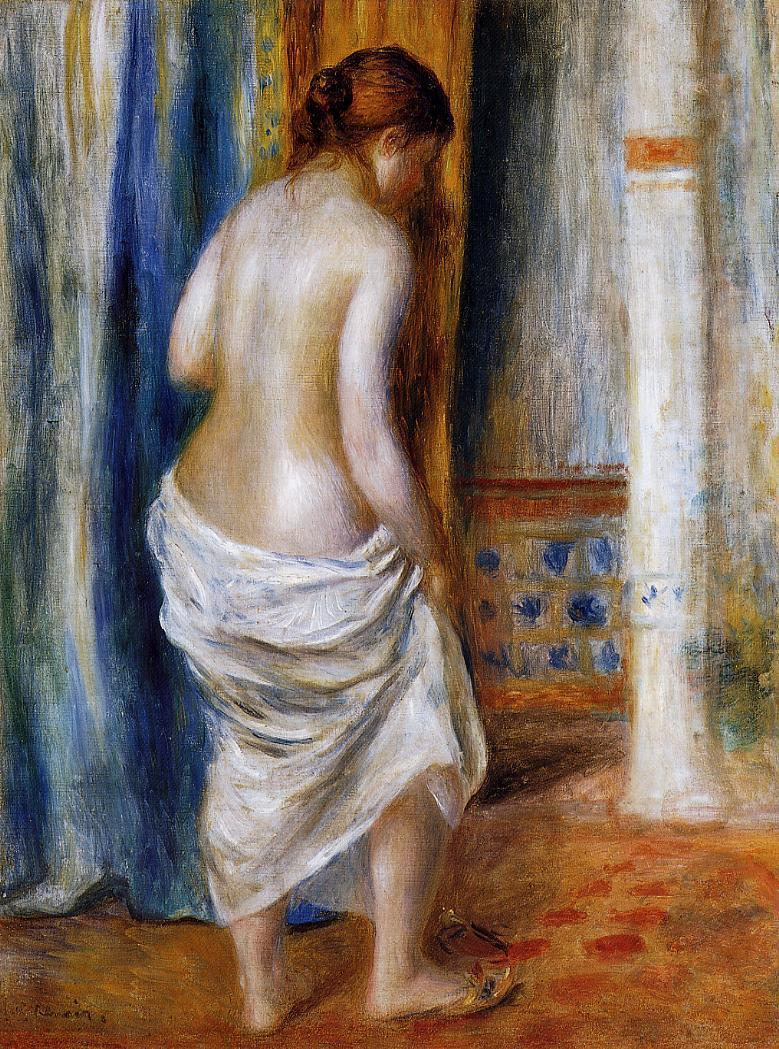 The Bathrobe 1889 | Pierre Auguste Renoir | Oil Painting
