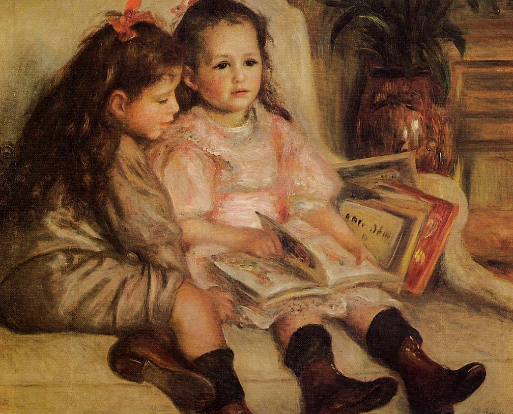 The Children of Martial Caillebotte 1895 | Pierre Auguste Renoir | Oil Painting