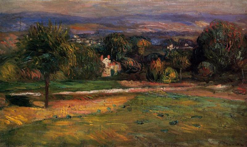 The Clearing 1895 | Pierre Auguste Renoir | Oil Painting
