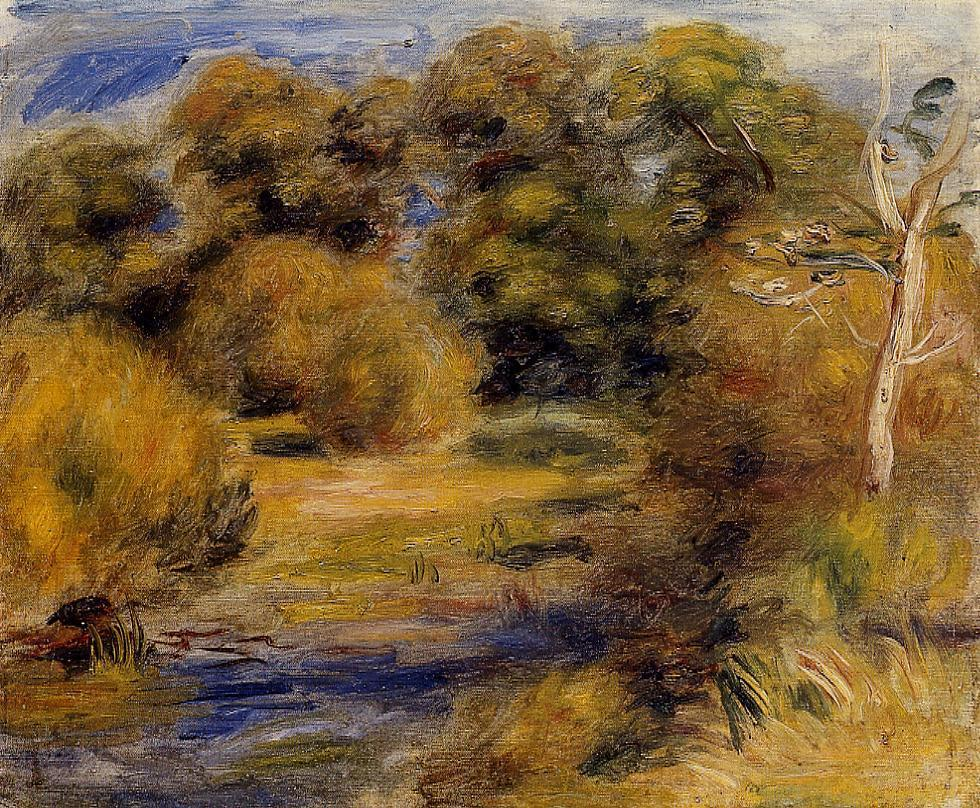 The Clearing | Pierre Auguste Renoir | Oil Painting