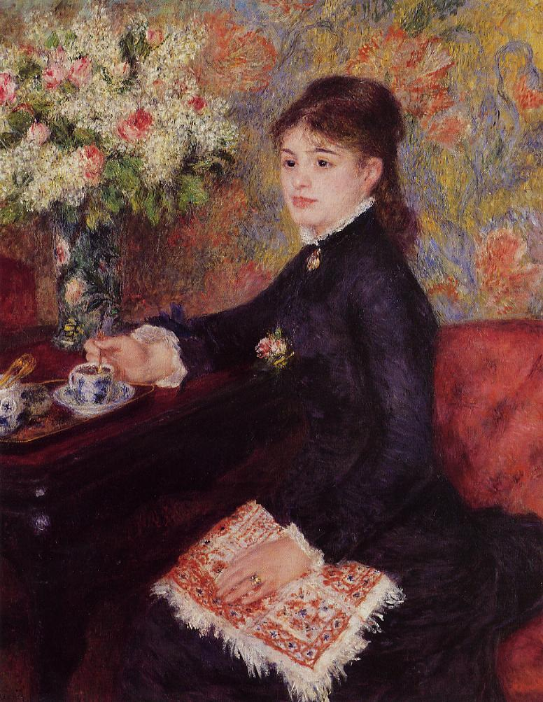 The Cup of Chocolate 1878 | Pierre Auguste Renoir | Oil Painting