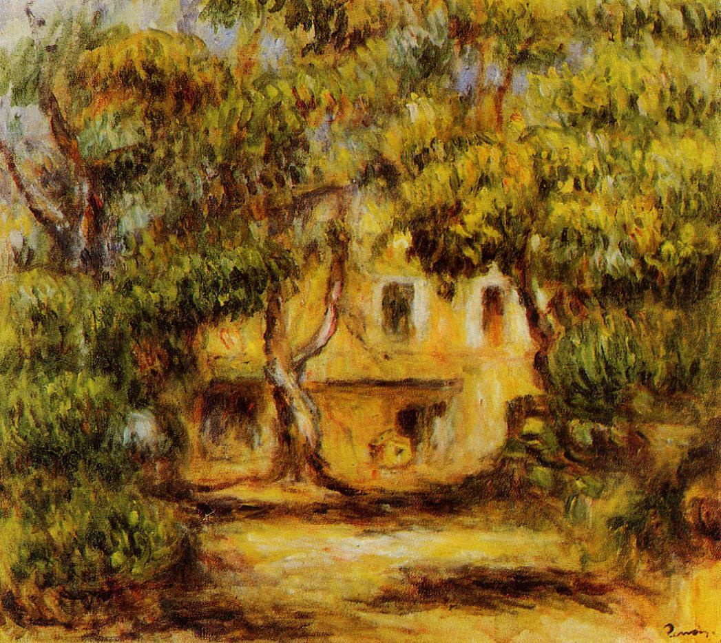 The Farm at Collettes 1915 | Pierre Auguste Renoir | Oil Painting