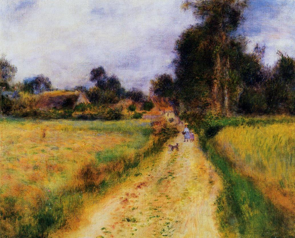 The Farm 1878 | Pierre Auguste Renoir | Oil Painting