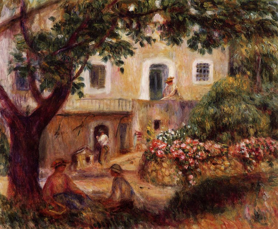 The Farm 1914 | Pierre Auguste Renoir | Oil Painting