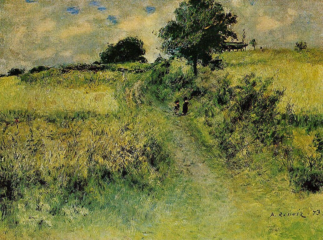 The Field 1873 | Pierre Auguste Renoir | Oil Painting