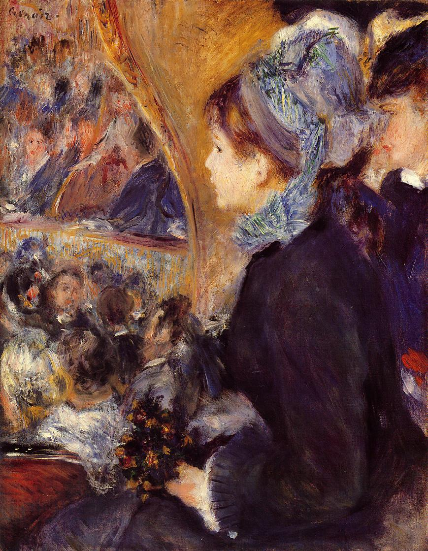 The First Outing 1875-1876 | Pierre Auguste Renoir | Oil Painting