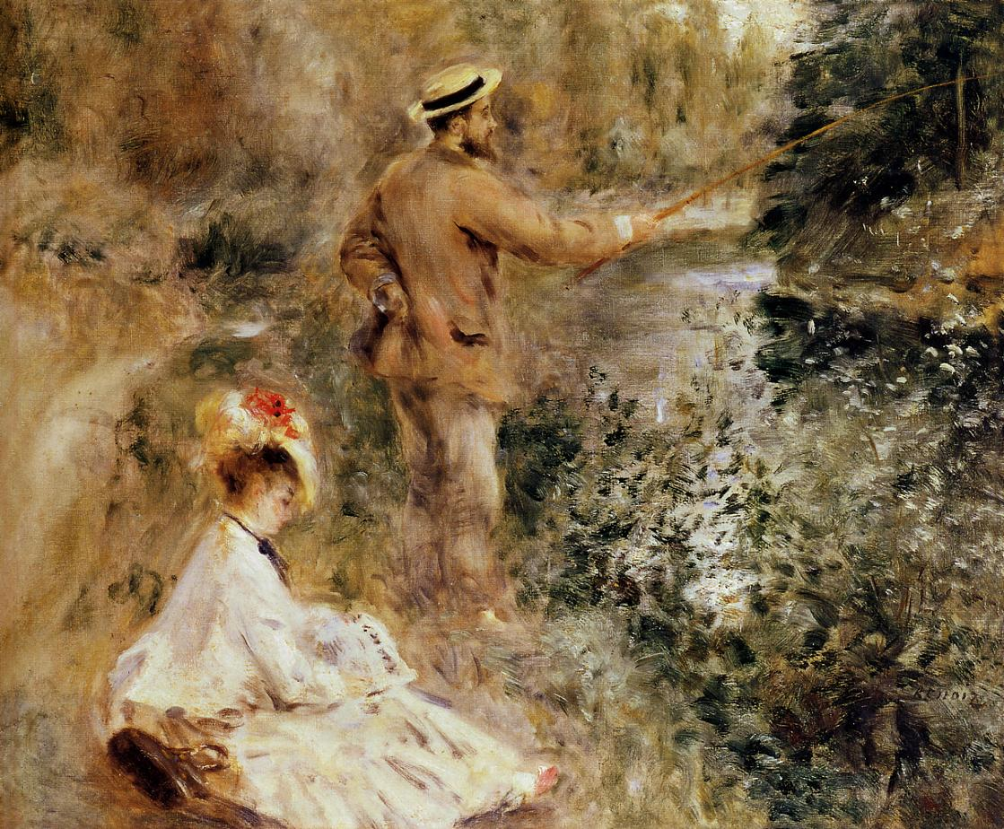 The Fisherman 1874 | Pierre Auguste Renoir | Oil Painting