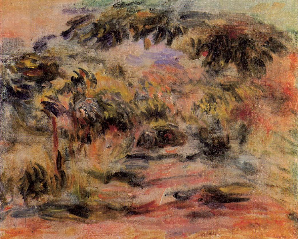 The Footpath 1917 | Pierre Auguste Renoir | Oil Painting