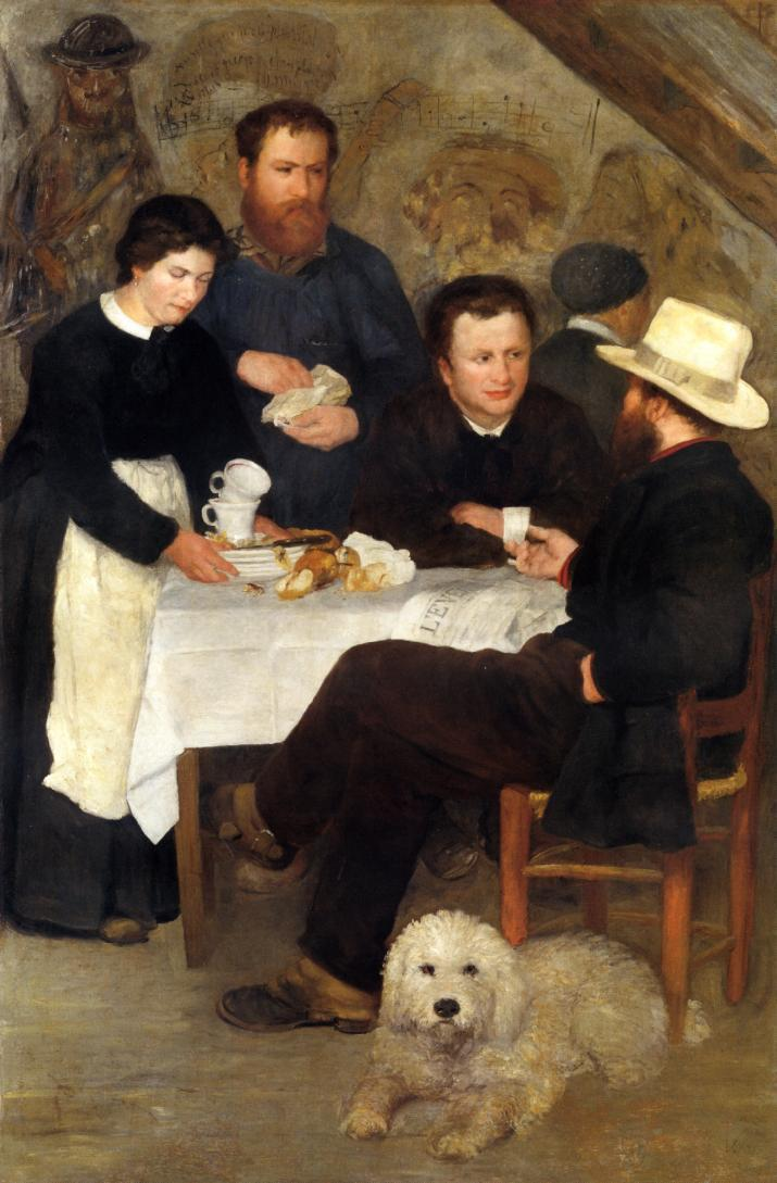 The Inn of Mother Anthony 1866 | Pierre Auguste Renoir | Oil Painting