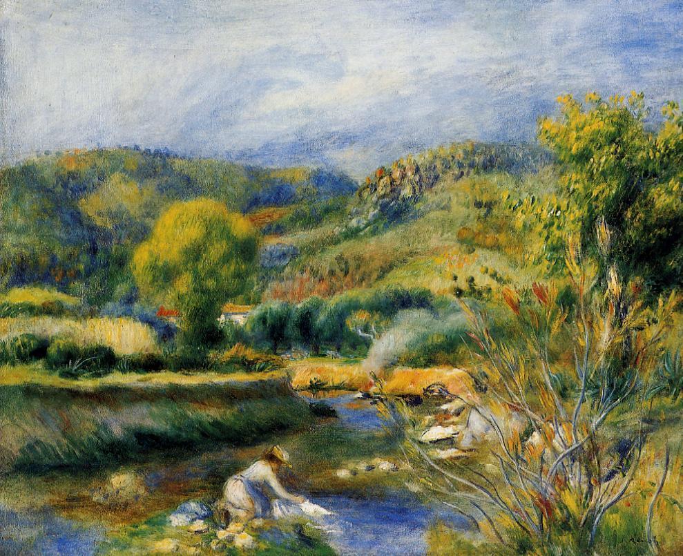 The Laundress 1891 | Pierre Auguste Renoir | Oil Painting
