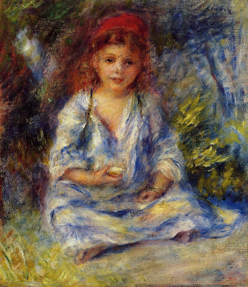 The Little Algerian Girl 1881 | Pierre Auguste Renoir | Oil Painting