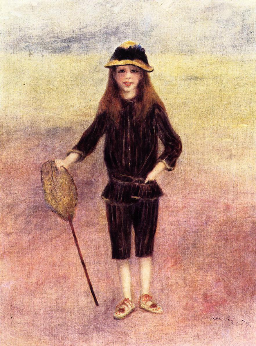 The Little Fishergirl 1879 | Pierre Auguste Renoir | Oil Painting