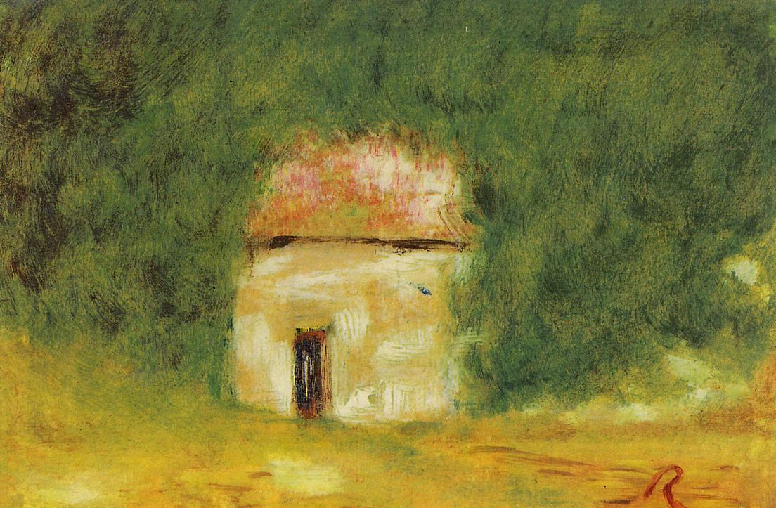 The Little House | Pierre Auguste Renoir | Oil Painting