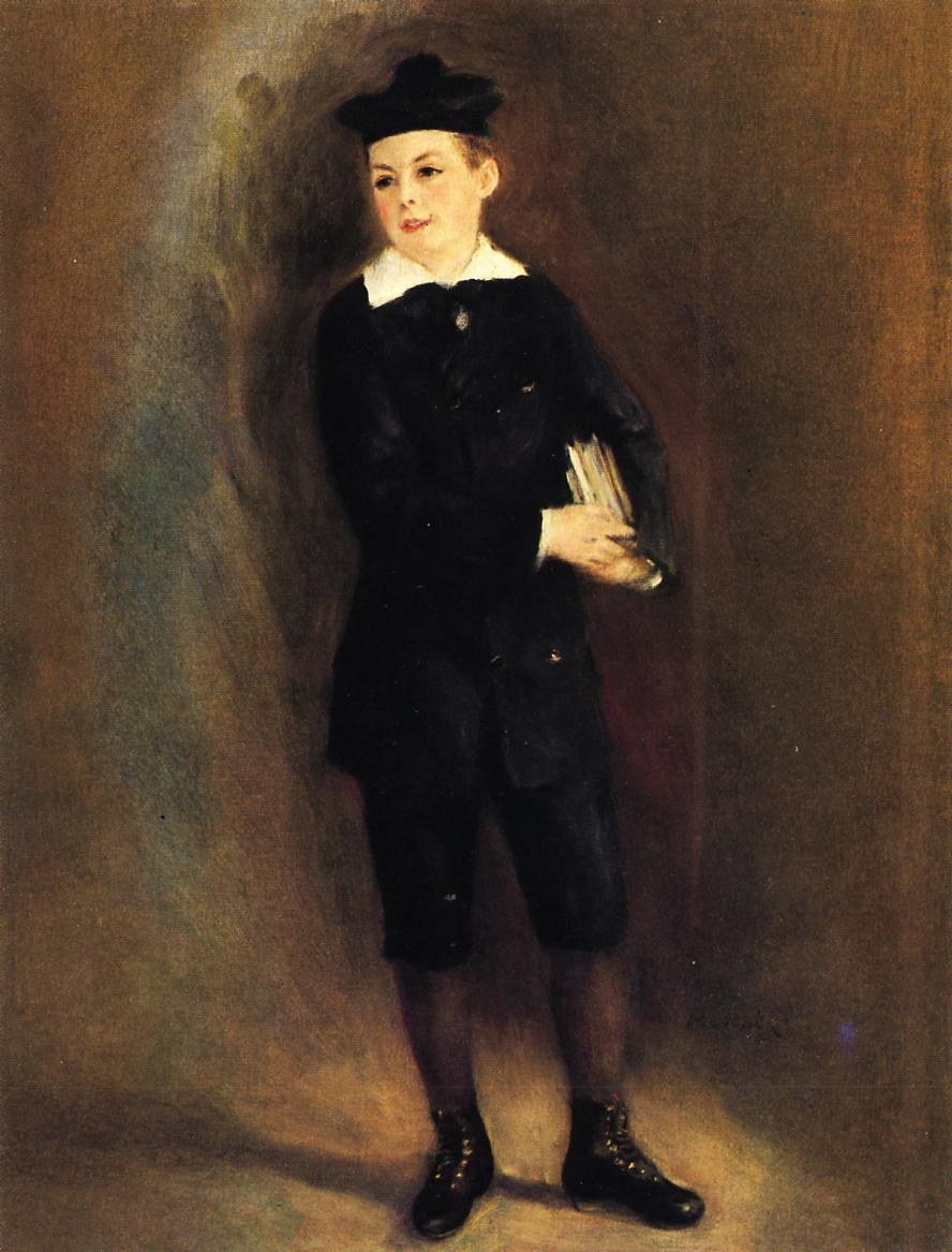 The Little School Boy 1879 | Pierre Auguste Renoir | Oil Painting