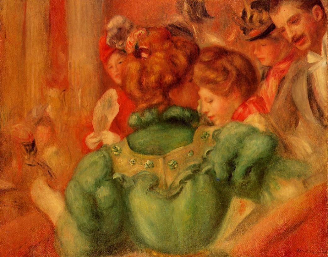 The Loge 1897 | Pierre Auguste Renoir | Oil Painting