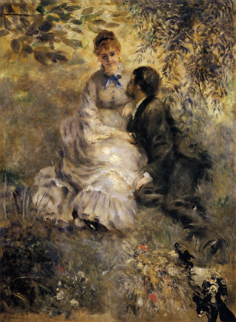 The Lovers 1875 | Pierre Auguste Renoir | Oil Painting
