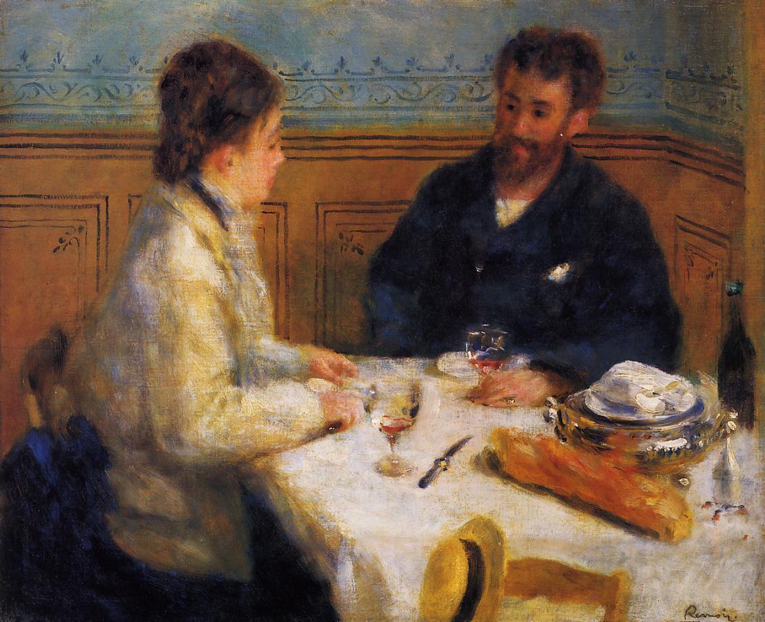 The Luncheon 1879 | Pierre Auguste Renoir | Oil Painting