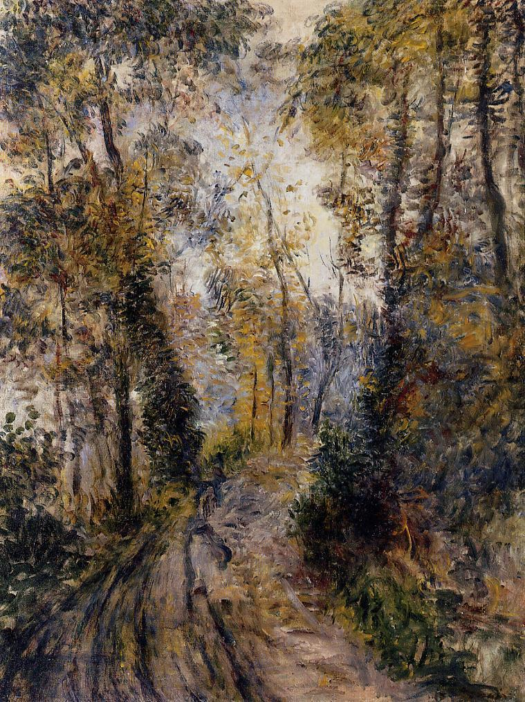 The Path through the Forest 1871 | Pierre Auguste Renoir | Oil Painting