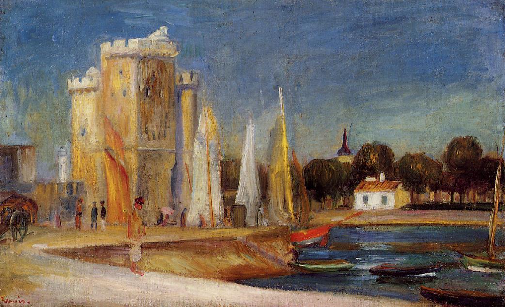 The Port of Rochelle 1896 | Pierre Auguste Renoir | Oil Painting