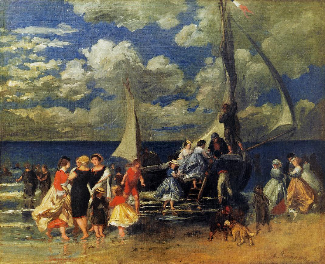 The Return of the Boating Party 1862 | Pierre Auguste Renoir | Oil Painting