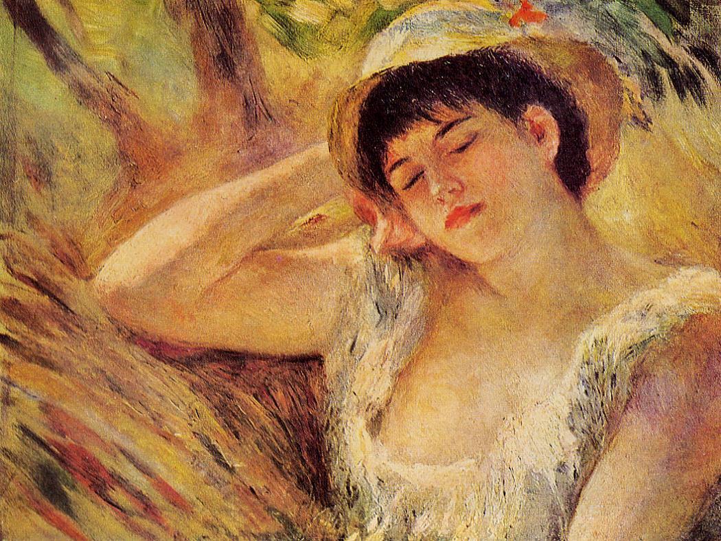 The Sleeper 1880 | Pierre Auguste Renoir | Oil Painting