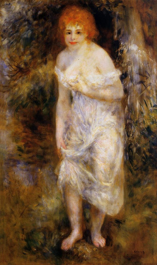 The Spring 1895 | Pierre Auguste Renoir | Oil Painting
