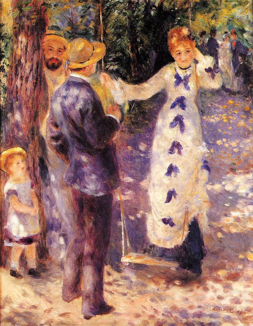 The Swing 1876 | Pierre Auguste Renoir | Oil Painting