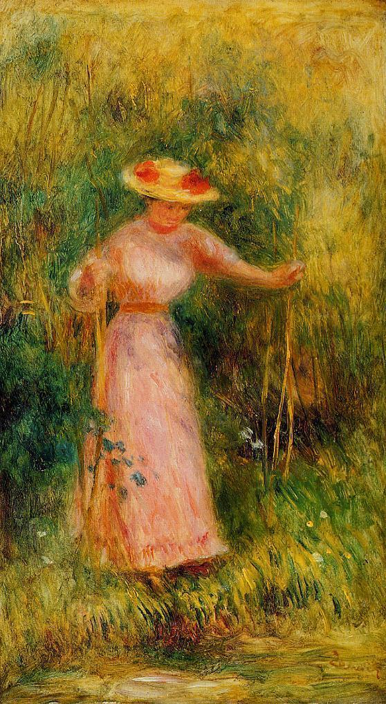 The Swing 1895 | Pierre Auguste Renoir | Oil Painting