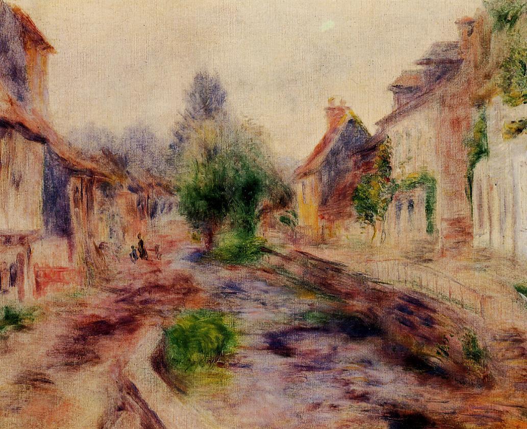 The Village | Pierre Auguste Renoir | Oil Painting