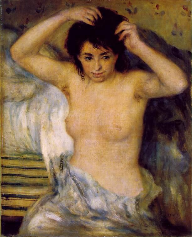 Torso (aka Bust of a Woman) 1873-1875   Pierre Auguste Renoir   Oil Painting