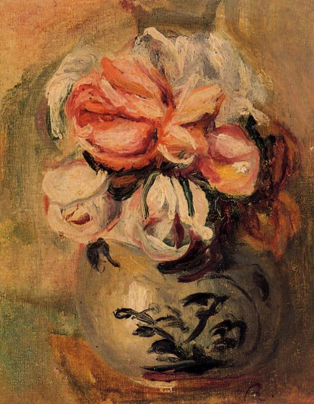 Vase of Flowers1 | Pierre Auguste Renoir | Oil Painting