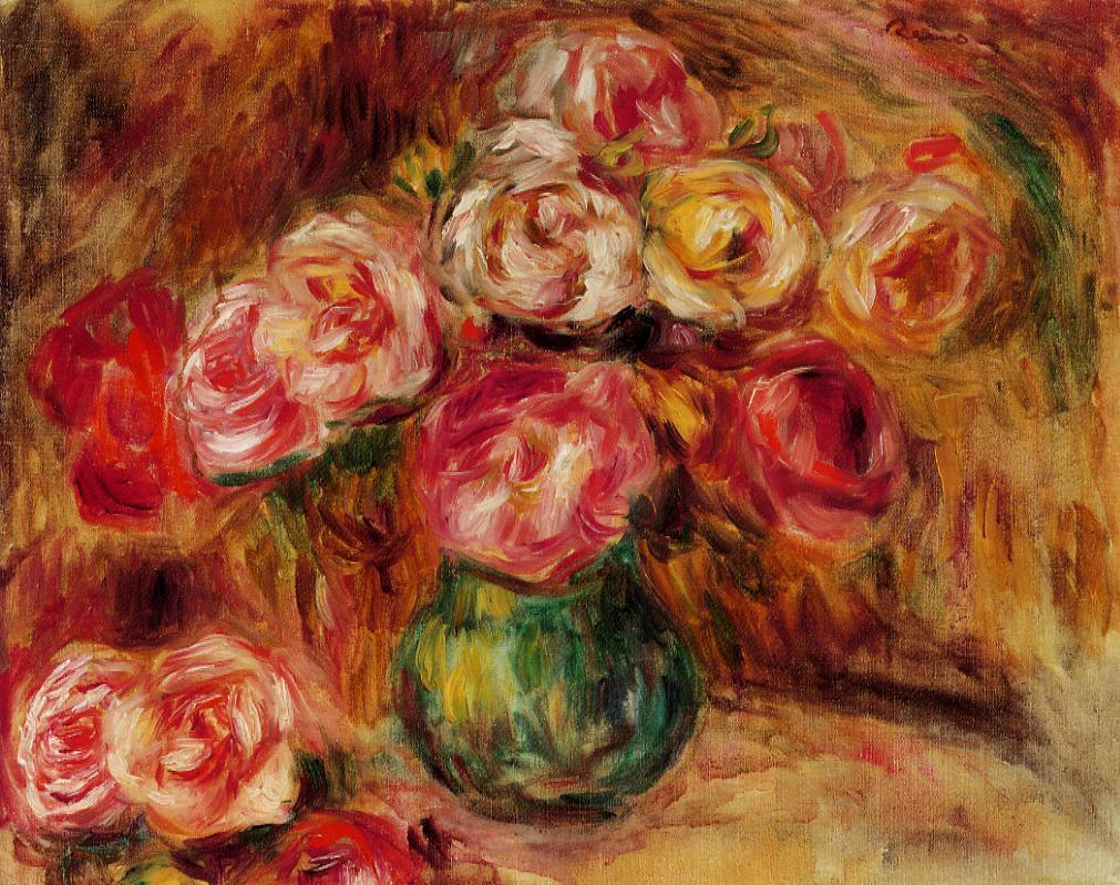 Vase of Flowers2 | Pierre Auguste Renoir | Oil Painting
