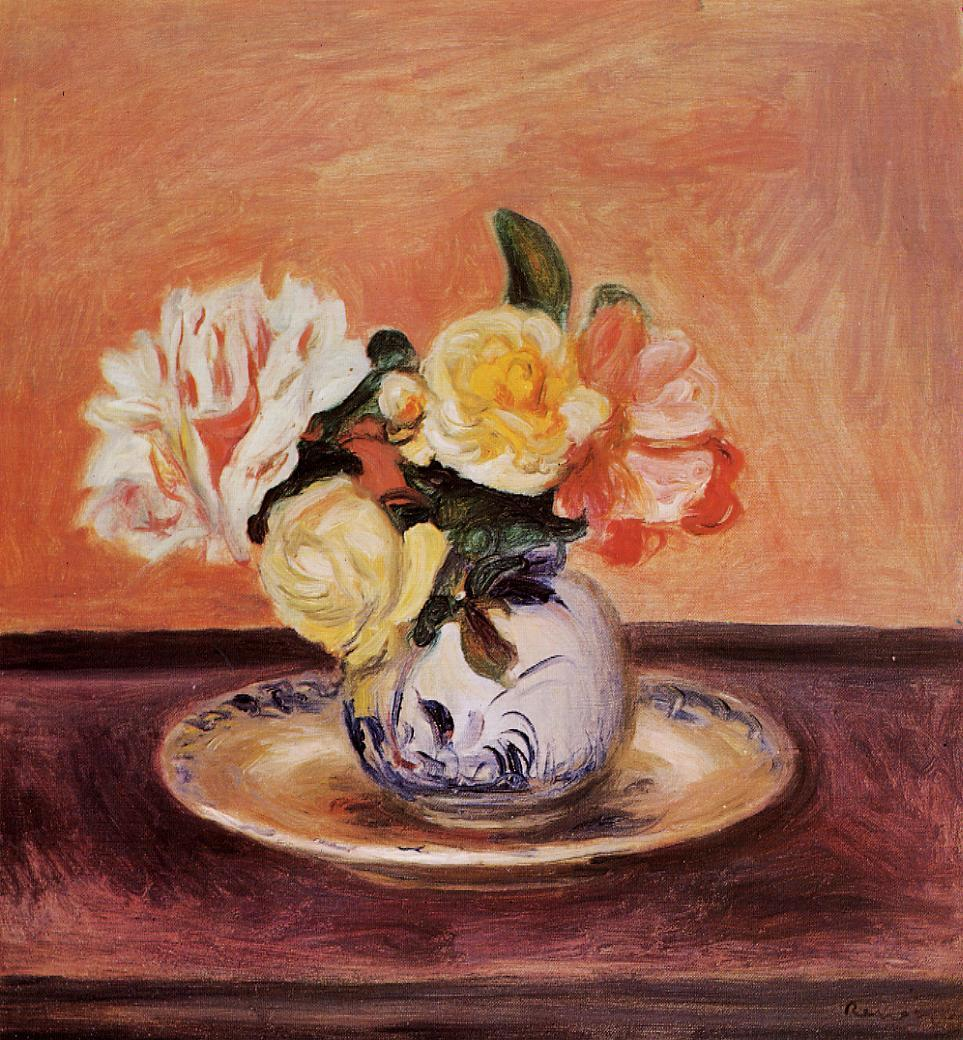 Vase of Flowers3 | Pierre Auguste Renoir | Oil Painting