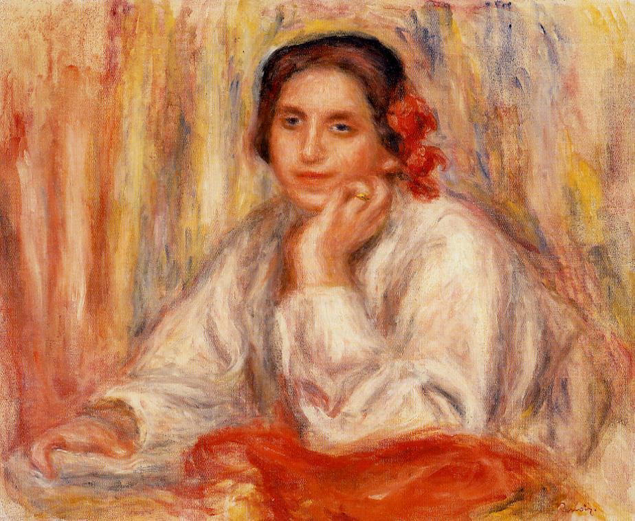 Vera Sertine Renoir 1914 | Pierre Auguste Renoir | Oil Painting