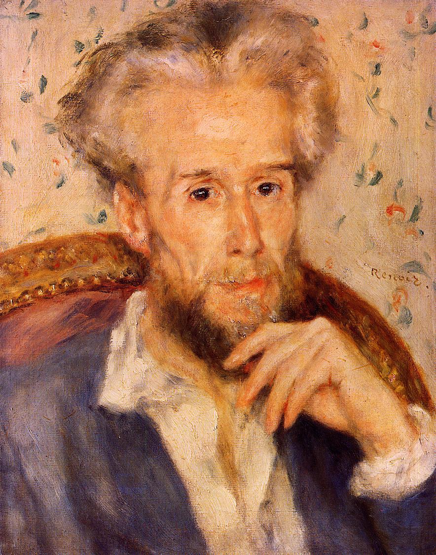 Victor Chocquet 1876 | Pierre Auguste Renoir | Oil Painting